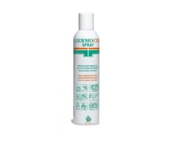 Germocid bomboletta spray 400 ml germicida disinfettante