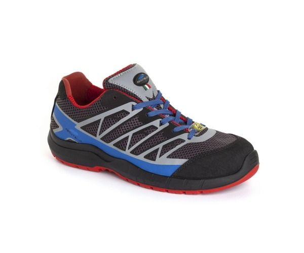 PANTHER Calzatura ESTORIL LOW S1P GREY BLU