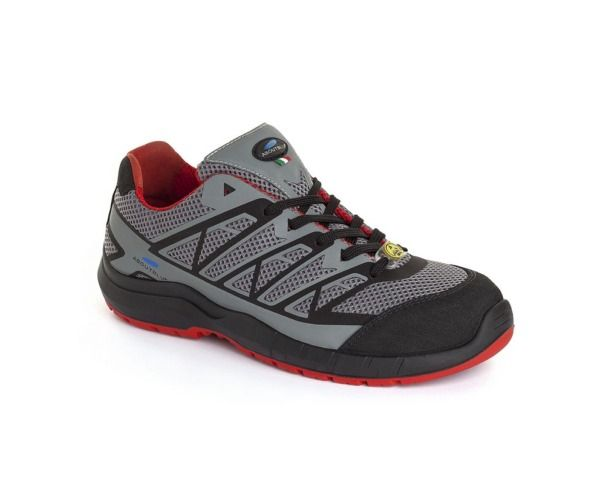 PANTHER Calzatura ESTORIL LOW S1P GREY RED