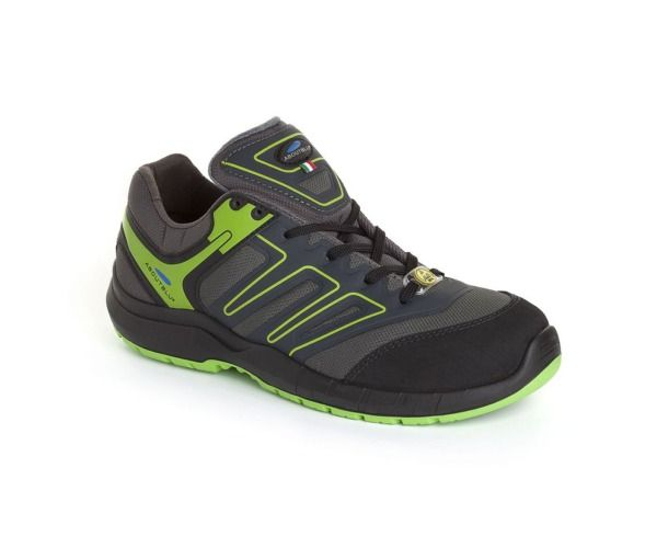 PANTHER Calzatura INDIANAPOLIS LOW S3 GREY GREEN