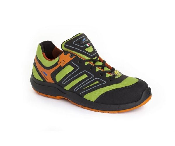 PANTHER Calzatura INDIANAPOLIS LOW S3 GREEN ORANGE
