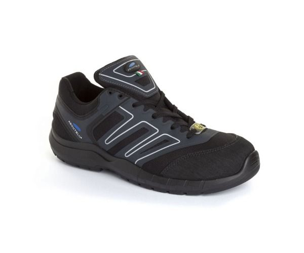 PANTHER Calzatura INDIANAPOLIS LOW S3 BLACK GREY