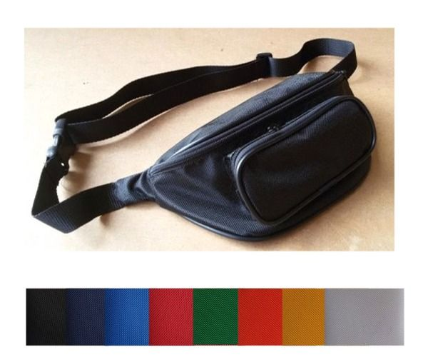 Marsupio NYLON 2 tasche MADE IN ITALY