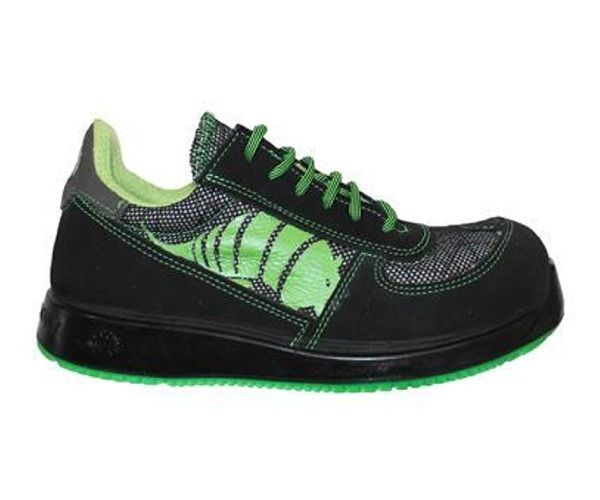 Calzatura DOT.IT S1P LEWER NERO/VERDE