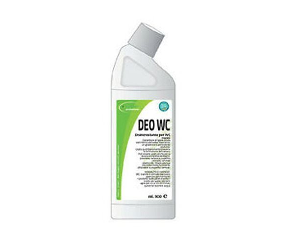 DEO WC flacone ml. disincrostante per WC Flac. 900 ml