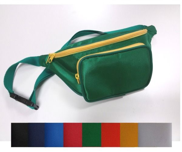 Marsupio NYLON 2 tasche CAPIENTI MADE IN ITALY