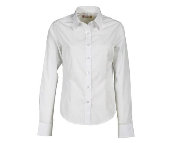 PAYPER MANAGER LADY Camicia donna BIANCA manica lunga 100% cotone