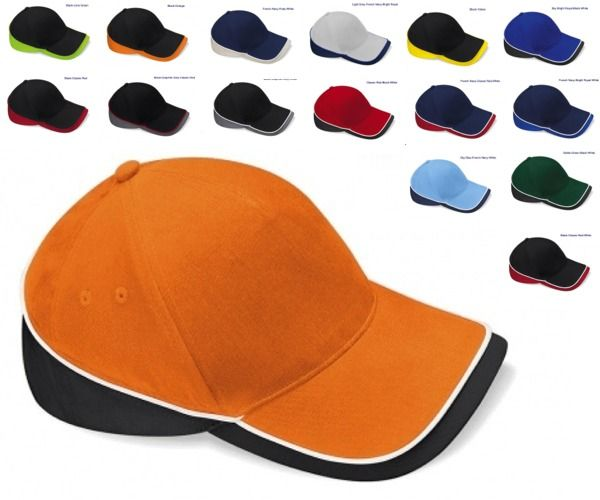 Cappellino beechfield Competition Teamwear  5 pannelli